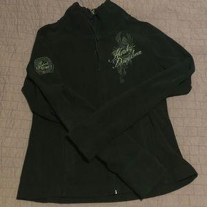 Women's Harley Davidson zip up jacket